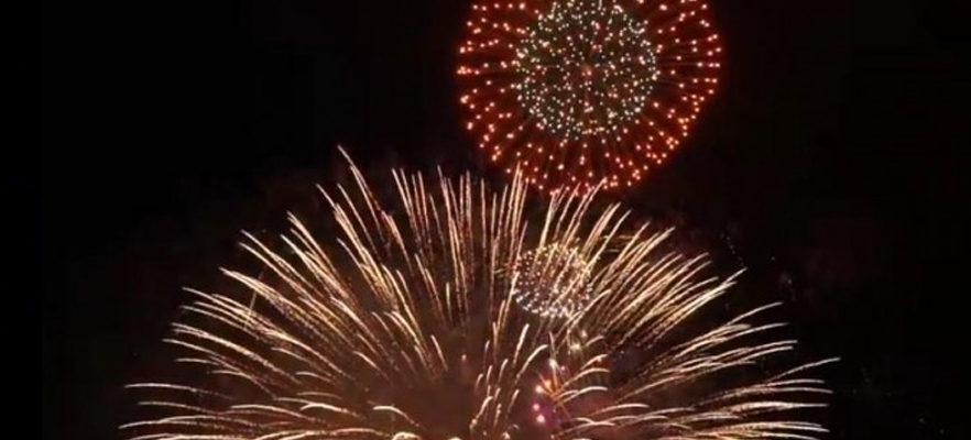 7月19日・鎌倉花火大会が行われました