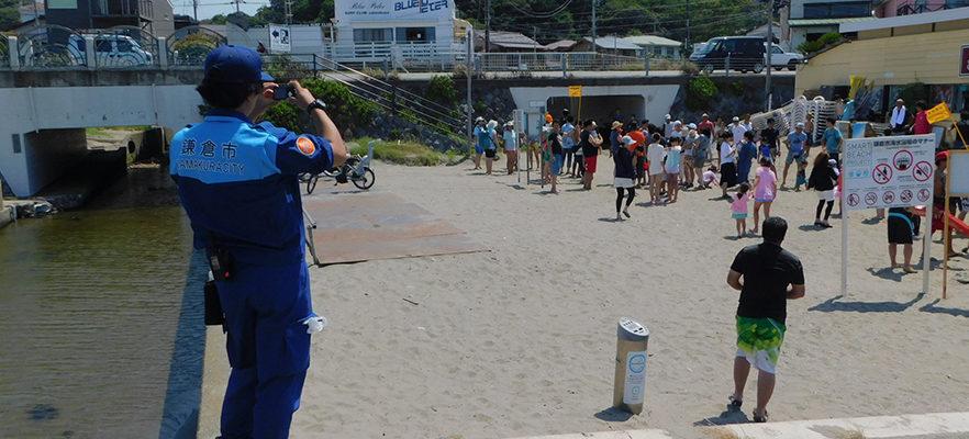 津波避難訓練が行われました(4)
