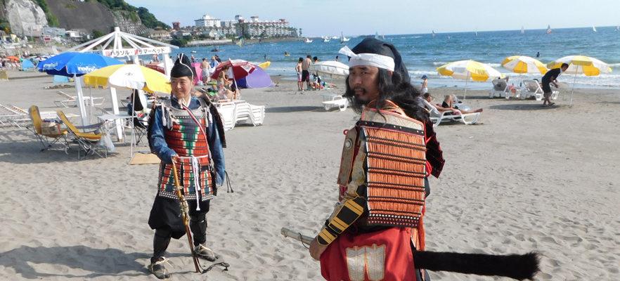 鎌倉もののふ隊の鎌倉智士隊将が来られました(1)