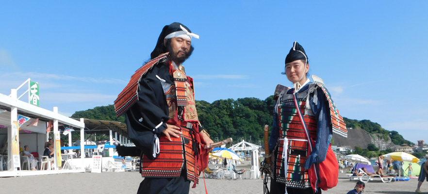 鎌倉もののふ隊の鎌倉智士隊将が来られました(2)